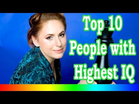 Top 10 People With Highest IQ In The World