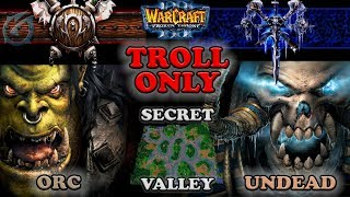Grubby   Warcraft 3 The Frozen Throne   OR v UD - Troll Only - Secret Valley
