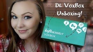 Influenster Deans List Voxbox Unboxing! Thumbnail