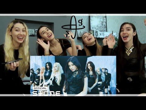 EVERGLOW (에버글로우) - DUN DUN MV 1st and 2nd Reaction + Showcase | Реакция