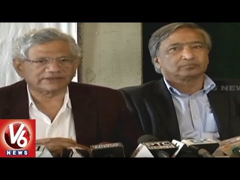 Sitaram Yechury: Country Passing Through Challenging Period In BJP Rule | V6 News