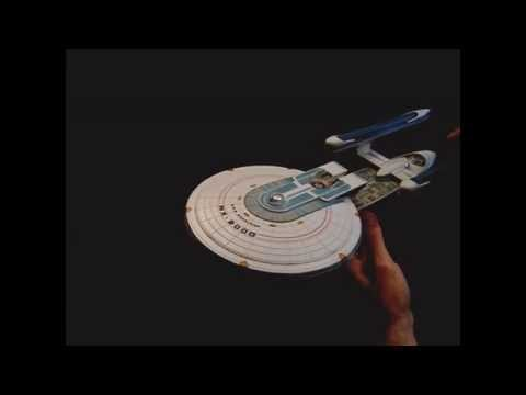 Diamond Select Toys Update: U.S.S. Excelsior NX2000 Lights  Sound Test
