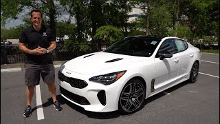 Is the NEW 2022 Kia Stinger GT a sport sedan worth BUYING?