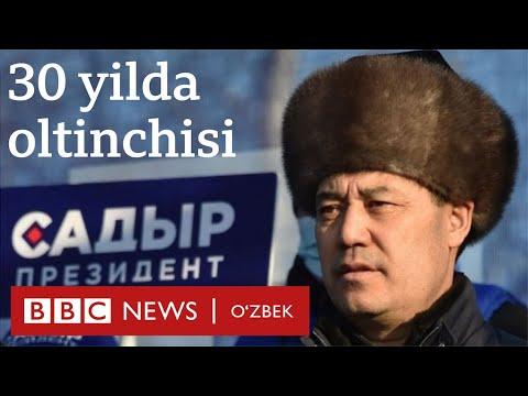 Қирғизистон: 30 йил ичида олтинчи президент сайланди - BBC News O'zbekiston Dunyo Yangiliklar Ўзбек