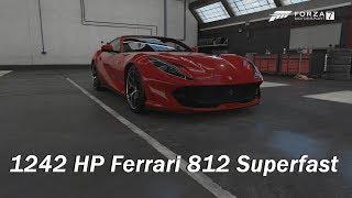 How Fast Will It Go? 2017 Ferrari 812 Superfast (Forza Motorsport 7)