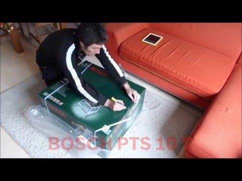 unboxing bosch pts 10 t table saw zaagtafel tafelzaag. Black Bedroom Furniture Sets. Home Design Ideas