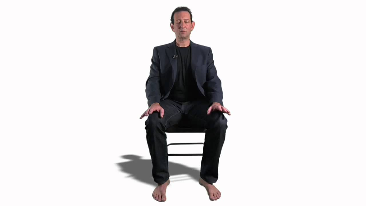 Person sitting on chair front view for Sitting chairs