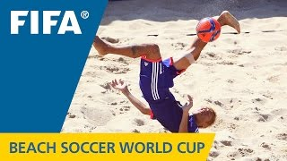 HIGHLIGHTS: Japan v. Senegal - FIFA Beach Soccer World Cup 2015