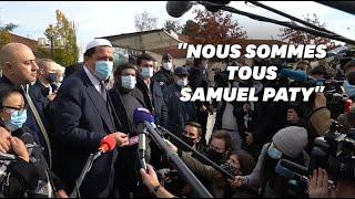 À Conflans, les imams appellent les mosquées à prier pour Samuel Paty