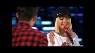Christina Aguilera Coaching The voice Season 3