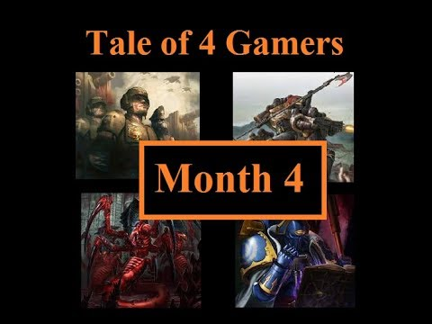 Tale of 4 Gamers. Month 3 Warhammer 40K Batrep