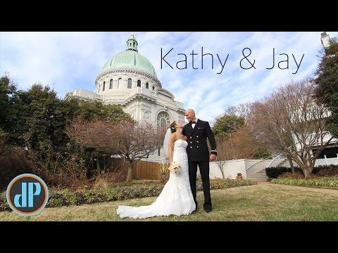 A Naval Wedding // Kathy & Jay
