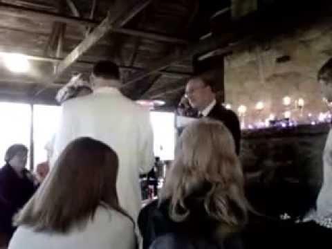 Leon and Sarina Parker's wedding Day Dec. 31, 2011