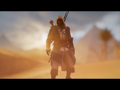 Assassin's Creed Origins - Edward Kenway Legacy Outfit (Showcase)