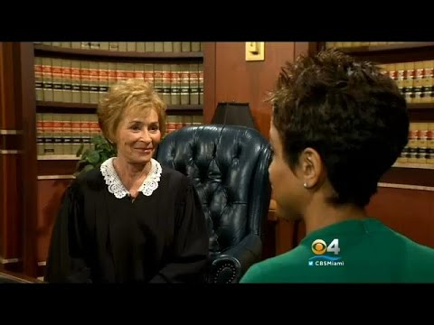 CBS Miami's Irika Sargent Goes One-On-One With Judge Judy