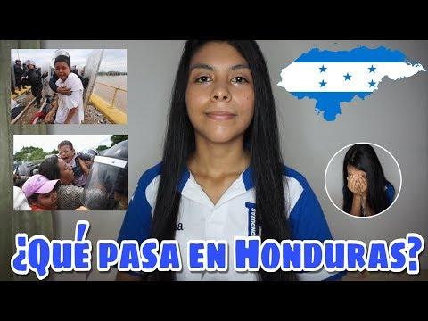 Qué está pasando en Honduras | Caravana de migrantes hondureños | Mi explicación y opinión