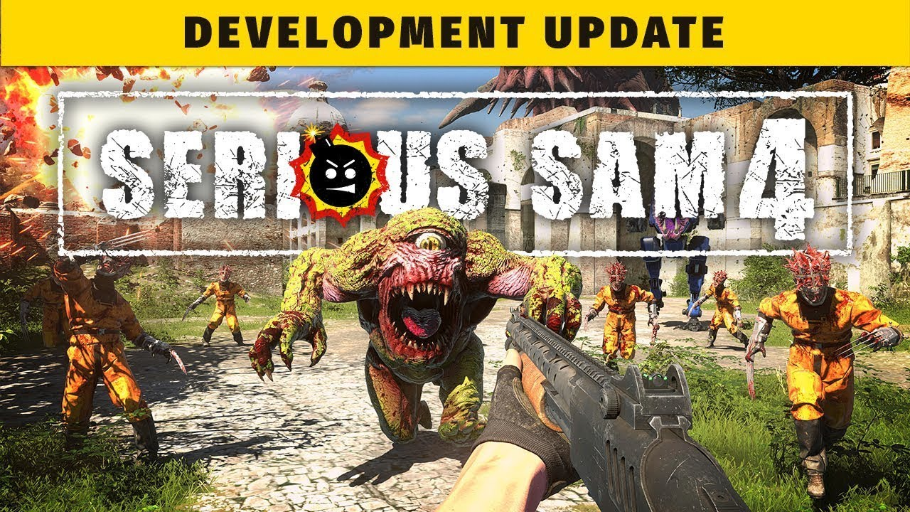 Serious Sam 4 - Developer Gameplay Update - Gematsu