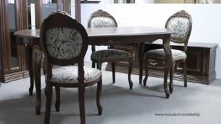 Набор белорусской мебели для гостиной и столовой из массива дуба «Орхидея»(, 2016-02-27T21:06:01.000Z)