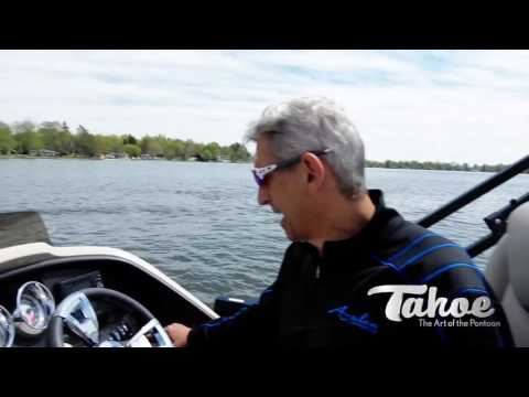 Dash Controls | Pontooning Guide 2017 | Tahoe Pontoon Boats