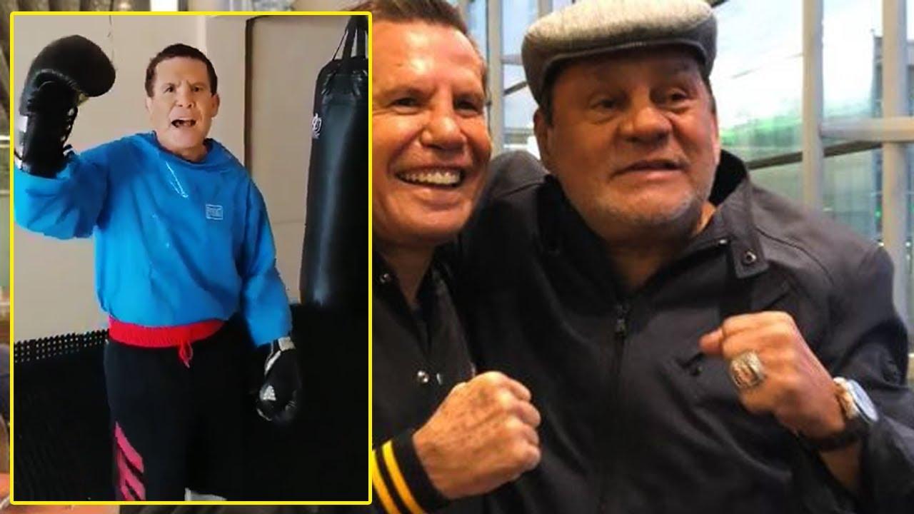 Chávez reconoce a Durán como el mejor boxeador latino y le manda un mensaje.