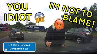 UK Dash Cameras - Compilation 32 - 2019 Bad Drivers, Crashes + Close Calls