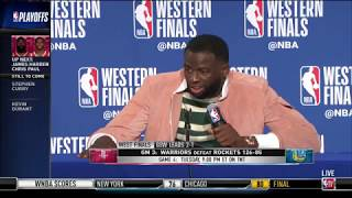Draymond Green | Western Conference Finals Game 3 Press Conference