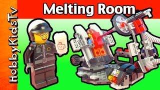 Bad Cop Melting Room 70801 Emmet Wyldstyle By Hobbykidstv