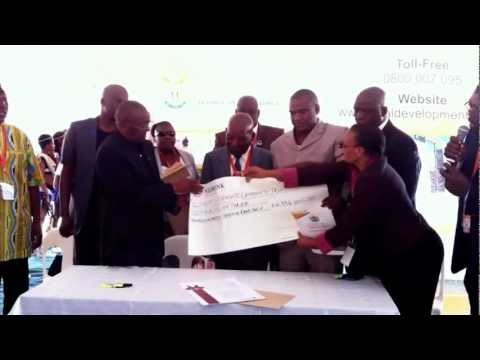 Deeds Handover Modikwa Platinum Mine