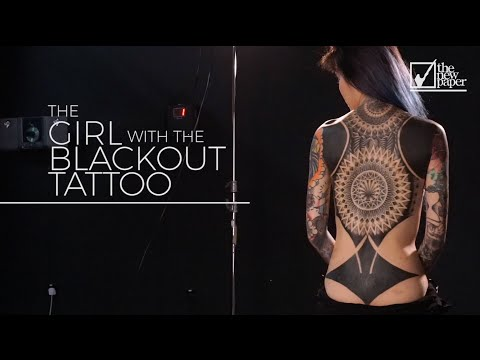 The Girl With The Blackout Tattoo