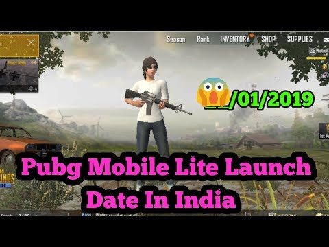Pubg Mobile Lite Launch Date In India Latest News