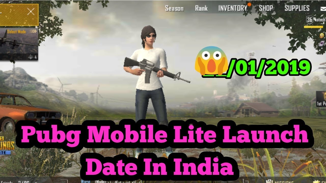 Pubg Mobile Lite Launch Date In India Latest News Youtube