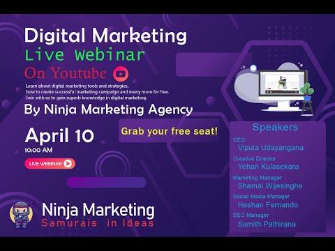 Digital Marketing Online Webinar By Ninja Marketing