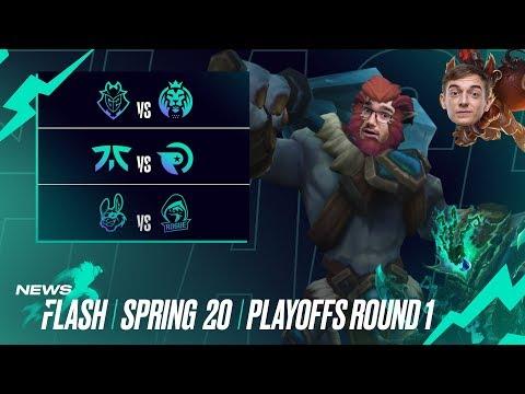 "Playoffs ""MADness""? | #LEC Newsflash Playoffs Round 1"