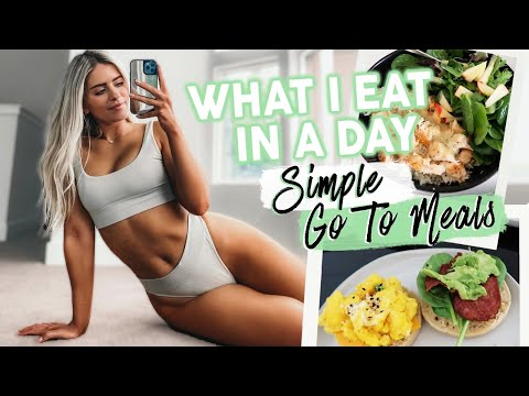 EVERYTHING I EAT IN A DAY... QUICK HEALTHY MEALS