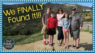 WE FINALLY FOUND THE HOLLYWOOD SIGN