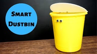 How to make Smart Dustbin with Arduino | Arduino Project