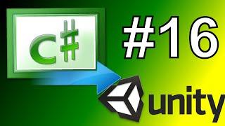 16.De eenheid te transformeren.positie - Eenheid C# Scripting Tutorial-