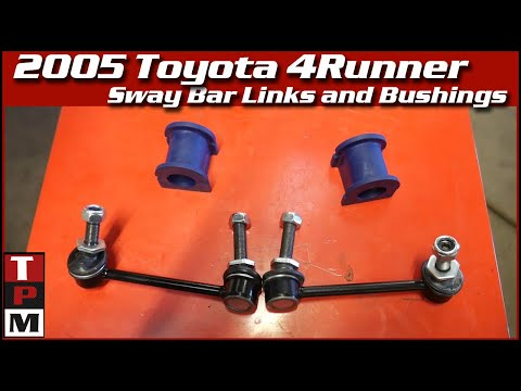 2005 Toyota 4Runner Sway Bar Bushings And Sway Bar End Links