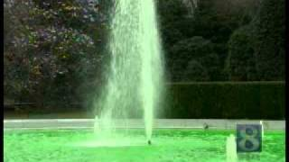 White House Gets Green Fountain