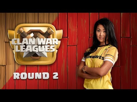Clan War Leagues - TH12 War Attacks - Clash of Clans - Round 2