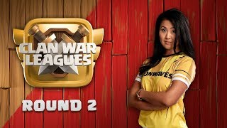 Clan War Leagues TH12 War Attacks Clash of Clans Round 2