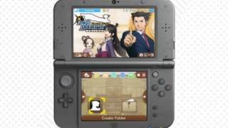 Phoenix Wright: Ace Attorney Trilogy Nintendo 3DS themes - Main Characters