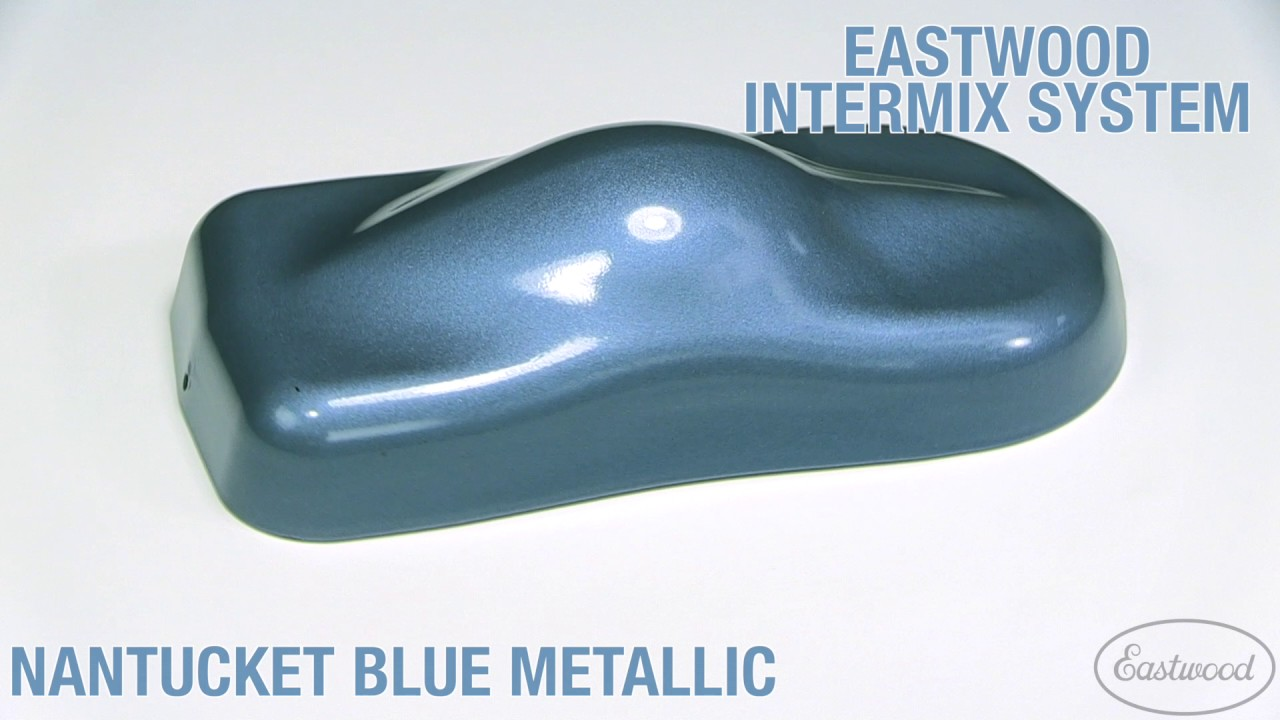 Nantucket Blue Metallic Intermix Paint Kit Eastwood