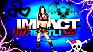 AJ Lee's 1st TNA theme song: Blow by Ke$ha