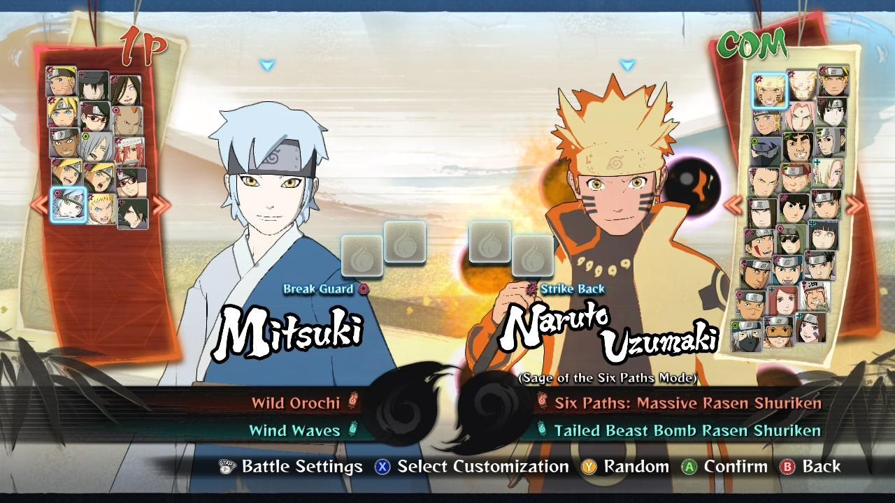 Naruto Shippuden Ultimate Ninja Storm 4 Road To Boruto 100 Unlock All New Characters Save Game You