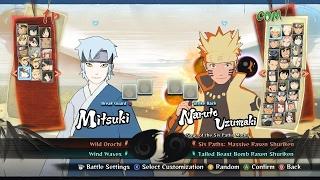 Naruto Shippuden Ultimate Ninja Storm 4 ROAD TO BORUTO: 100% UNLOCK ALL NEW CHARACTERS SAVE GAME