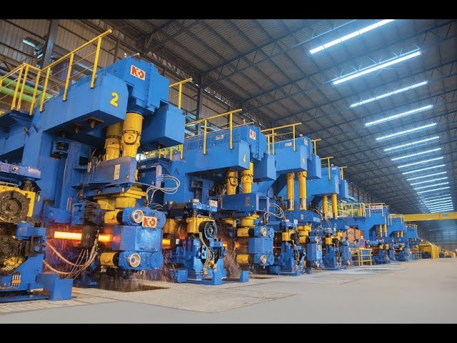 NCO Hot Rolling Mills - corporate video.