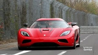 Koenigsegg Agera R - 402km/h EPIC Fly By on the Nurburgring!