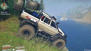 UAZ YAMAL 4X4 Offroad   Ruta de Montaña cruzando ríos