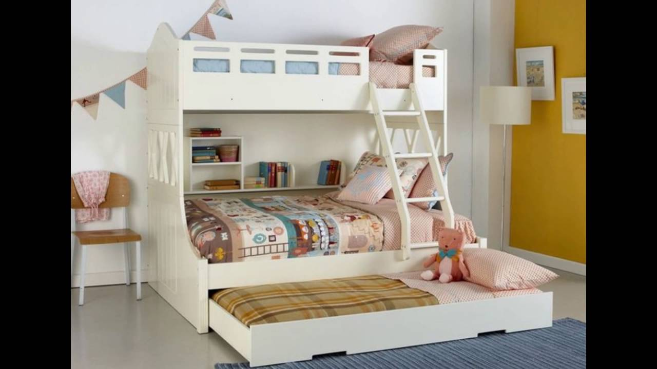 Double Kids Bed Youtube